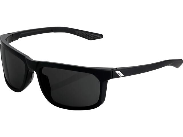 100% Hakan Glasses soft tact black/peakpolar